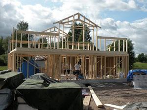 Bygga hus helt själv