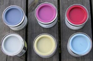 Färg för utomhusbruk