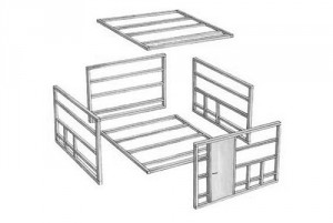 Husleverantörer och hustillverkare levererar hus i byggsats